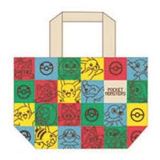 Pocket Monster Sun & Moon Tote Bag