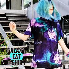 ACDC  Galaxy Cat  T-shirt