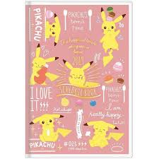 2019 Pikachu  Monthly   Schedule Book
