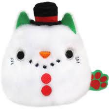 Neko Dango  Christmas  Collection plush beanie -  Snowman