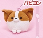 AMUSE Fusafusa Wanko dog plush mascot
