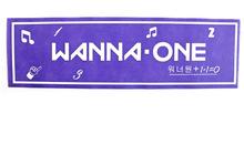Wanna one  Banderoll