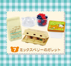 Rilakkuma  Natural Market  series re-ment blind box