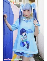 """Menhera Chan"" Collection x  ACDC Collection -Sabukaru Chan"