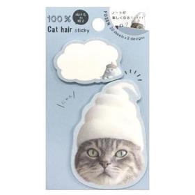 100% Cat hair Nya Maru Cute sticky notes