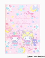 Sailor Moon x My Melody Collabration - skrivbok