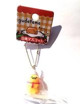 Gudetama chef mascot hanger