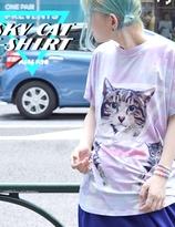 ACDC Sky  Cat  T-shirt