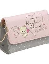 Rilakkuma Style · Korilakkuma × Pink Series : mini pouch