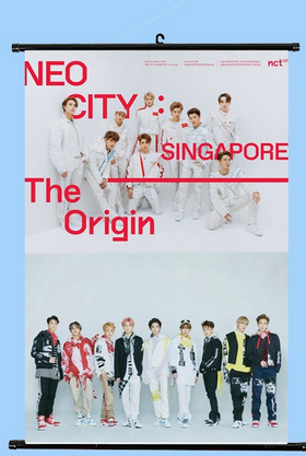 NCT  NEO CITY  Wallroll Poster- small size