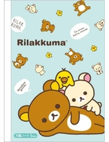 Rilakkuma notebook ( Grid note )