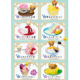 Rilakkuma Asia Cold Sweets  series re-ment blind box