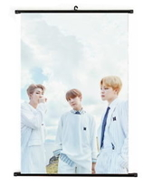 """BTS  """"2018 Season's Greetings""""  Poster - Rap Monster , V , JIMIN"""