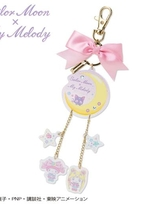 Sailor Moon x My Melody Collabration -nyckelring.