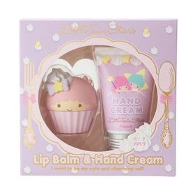 Little Twin Stars Lip Cream & Hand Cream Set