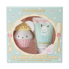 Pochacco  Lip Cream & Hand Cream Set