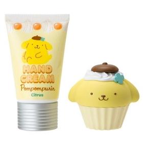Pomupomupurin  Lip Cream & Hand Cream Set