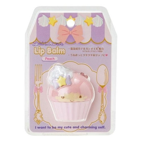 Little Twin Stars  Lip balm Cupcake shaped