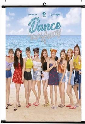 Twice Summer  Night Wallroll Poster