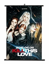 BLACKPINK    Kill this Love  Wallroll Poster- small size