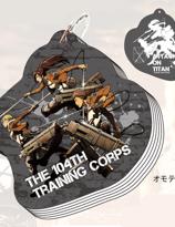 Attack on Titan mini skrivbok