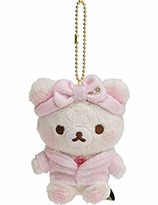 Rilakkuma Pajama Party Series - hanging plush