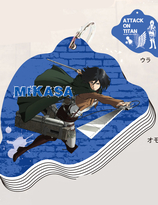 Attack on Titan mini skrivbok - Mikasa