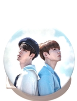 BTS Badge - JIN & JUNGKOOK