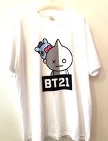 BT21  Mang &  Van  T-shirt  - XL