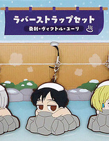 Yuri On Ice Hot Spring Collection - Rubber Strap set of 3