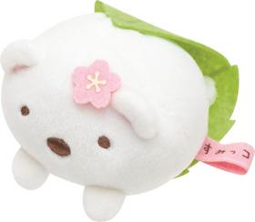 Sumikko Gurashi Sakura mochi mini plush