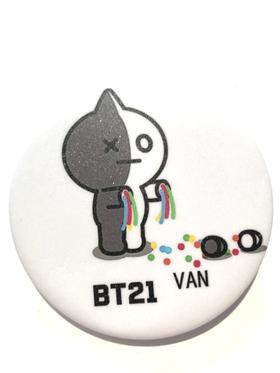 BT21  Badge  - VAN