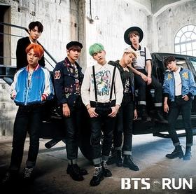 BTS  RUN   CD (JAPANESE VER.) - [Regular Edition]