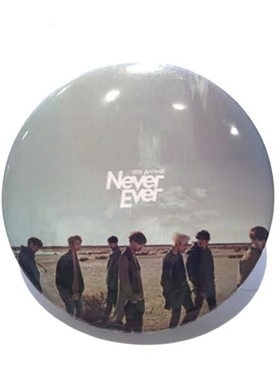 GOT7 Never Ever Badge