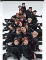 NCT   Wallroll Poster  - small size