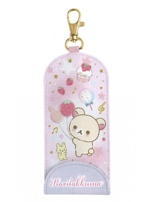 Korilakkuma   Happy School Key Case with Reel