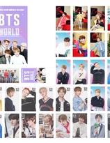 BTS WORLD Lomo card