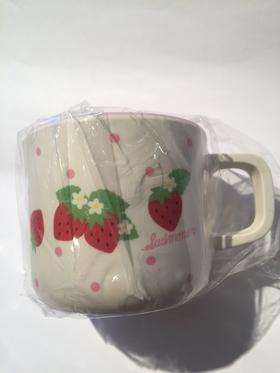 Swimmer mug - strawberry