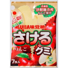 UHA Tsugaru  Apple  Gummi  Candy