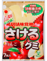 UHA Tsugaru  Apple  Gummi  Candy