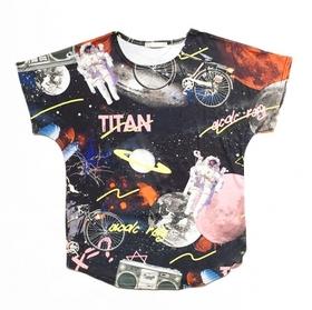 ACDC Galaxy   T-Shirt