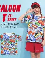 ACDC Harajuku Style Hip Hop Street Girl Balloon T-shirt