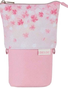 DELDE  Sakura Pink  Slide Pouch
