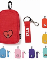BT21 pouch with hanger