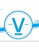 BTS  V  Banderoll
