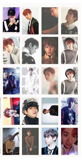 Baekhyun Lomo cards
