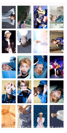 RAP MONSTER Lomo cards