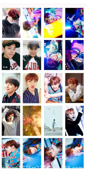 J-HOPE Lomo cards
