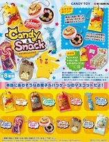 Pokemon Candy Snack Hanger Collention  Re-Ment Blind Box