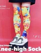 ACDC Harajuku Style  Gummy Candy  knee high tights socks